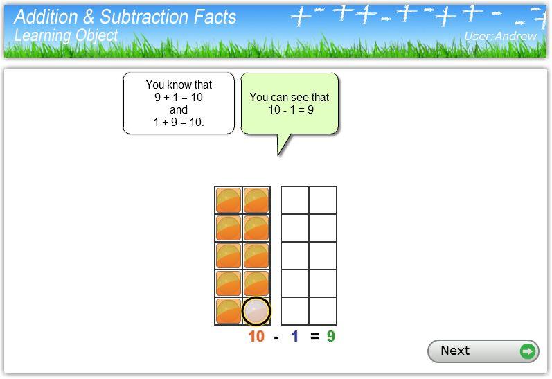 Basic math facts assessment worksheet nz