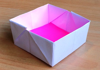 How to Make a Paper Box Tutorial - Red Ted Art - Make crafting ... | 336x237