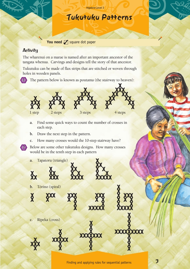 Tukutuku patterns nzmaths click on the image to enlarge it click again to close download pdf 306 kb ibookread Read Online