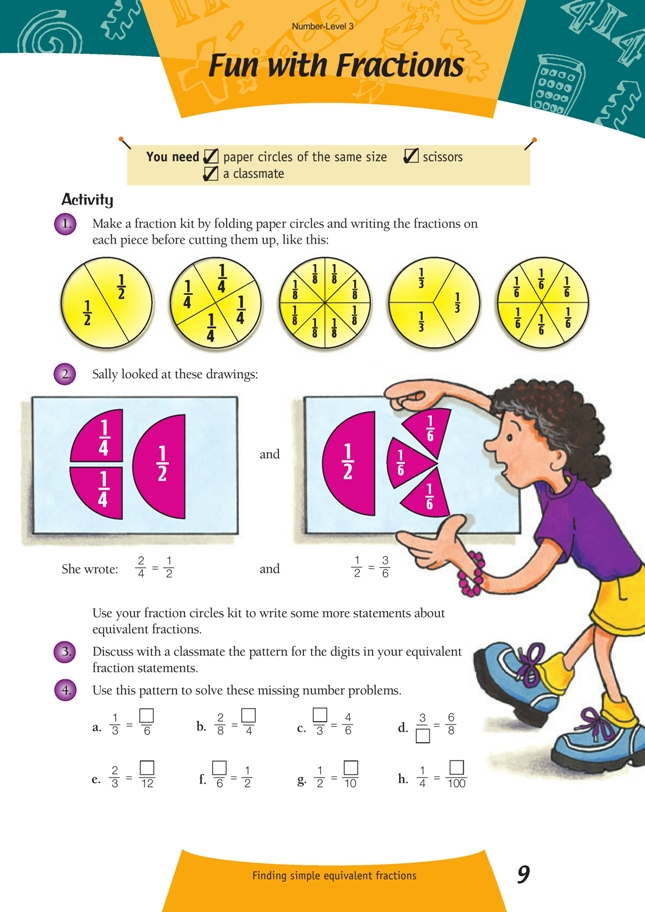 Fun with Fractions | NZ Maths