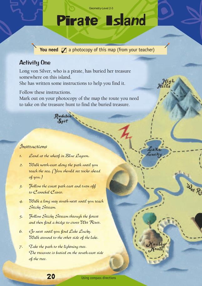 Pirate Island Nzmaths