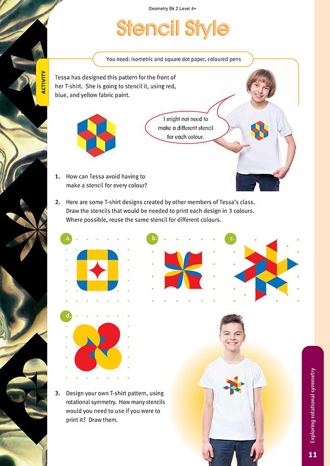 Stencil Style | NZ Maths