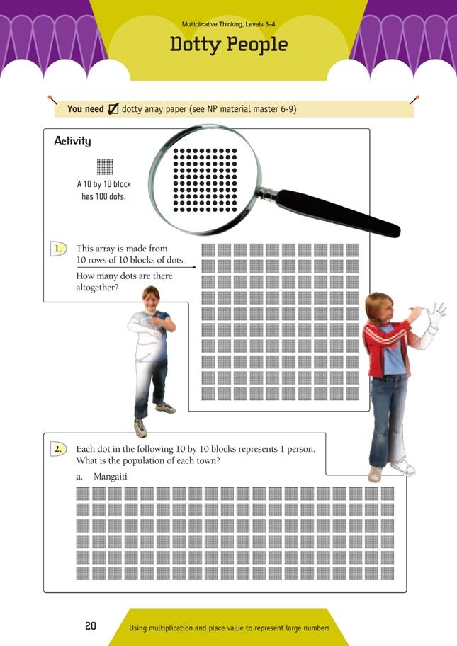 graphic regarding Dotty Paper Printable named Dotty Those NZ Maths