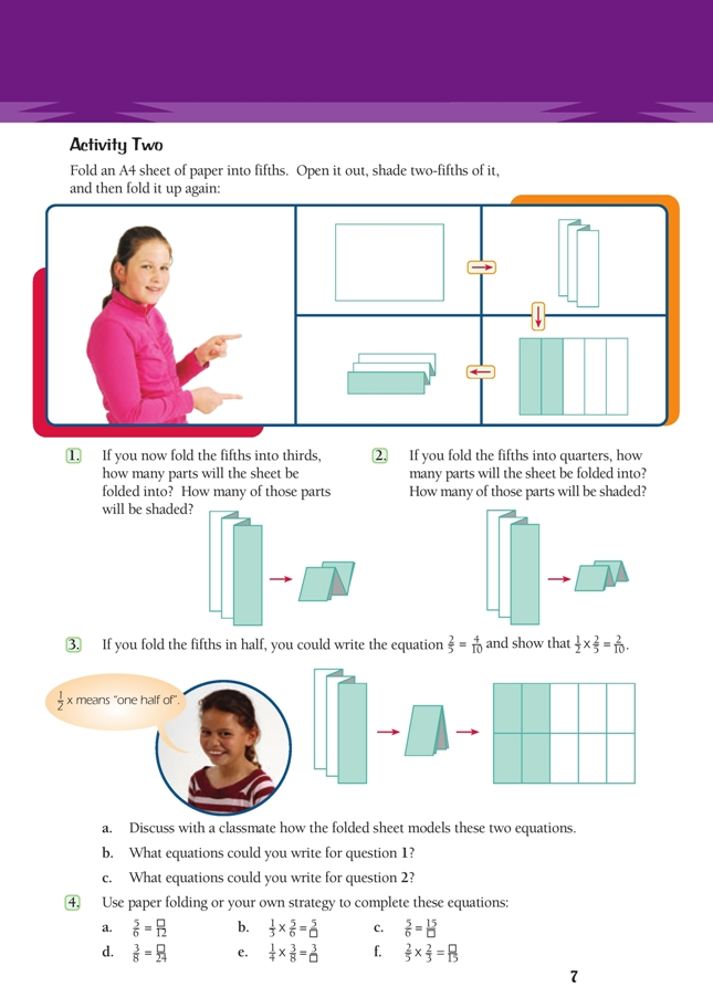Week 3: Parts of the whole: 1.1 Folding paper - OpenLearn - Open ... | 912x645
