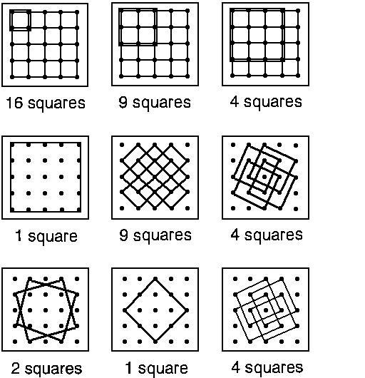 Lots of squares   nzmaths